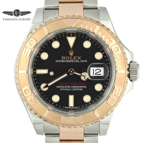 rolex yacht-master steel & rose gold 116621