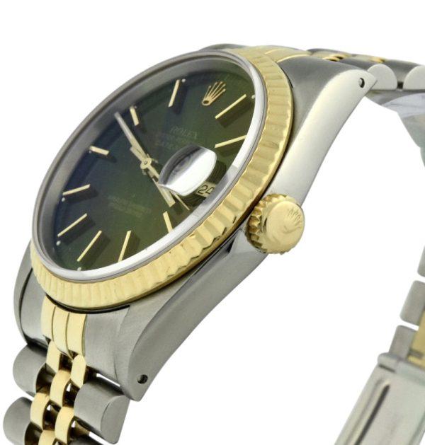 Rolex datejust 16233 black dial