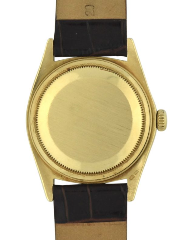 Rolex 18038 case back