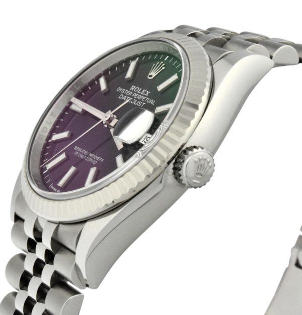 Rolex datejust 126234 36mm blue dial