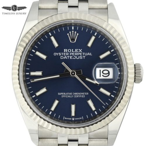 Rolex Datejust 126234 Blue Dial
