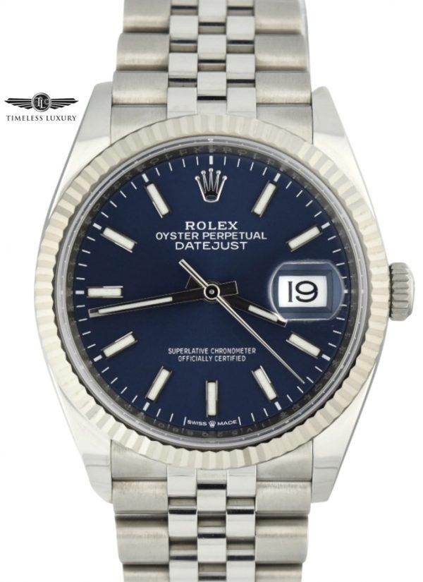 Rolex Datejust 126234 Blue Dial