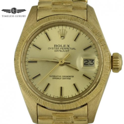 1978 Ladies Rolex 6927 Bark finish for sale