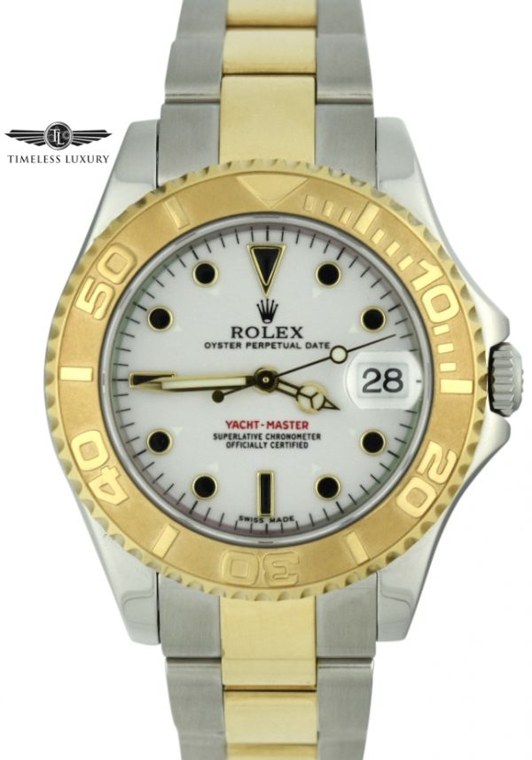 Rolex Yachtmaster 168623 Steel & 18k gold for sale