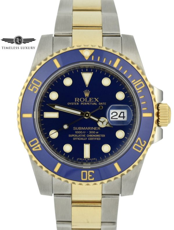 2017 Rolex Submariner 116613LB For sale