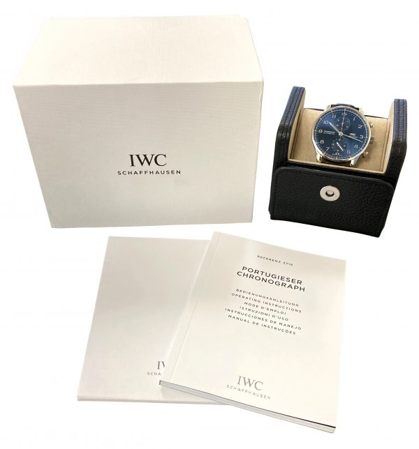 IWC Portuguese Chronograph IW3716 FOR SALE