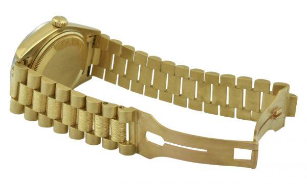 Rolex president 18038 bark band