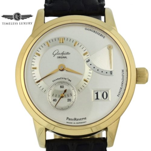 Men's Glashütte original PanoReserve 65-01-01-01-04 for sale
