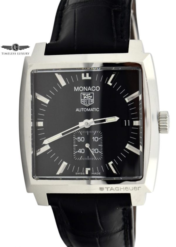 TAG Heuer Monaco WW2110 Black Dial