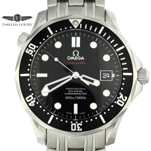 OMEGA Seamaster 300m Black Dial 212.30.41.20.01.002