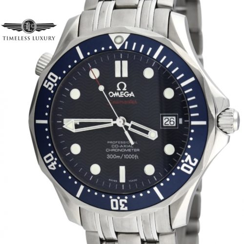 OMEGA Seamaster 300m 2220.80.00 blue dial for sale