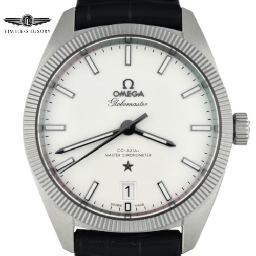 OMEGA Constellation Globemaster silver 130.33.39.21.02.001