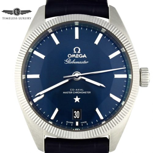 OMEGA Constellation Globemaster blue 130.33.39.21.03.001
