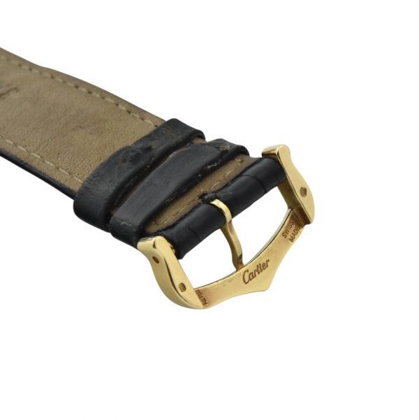 Cartier tank gold buckle