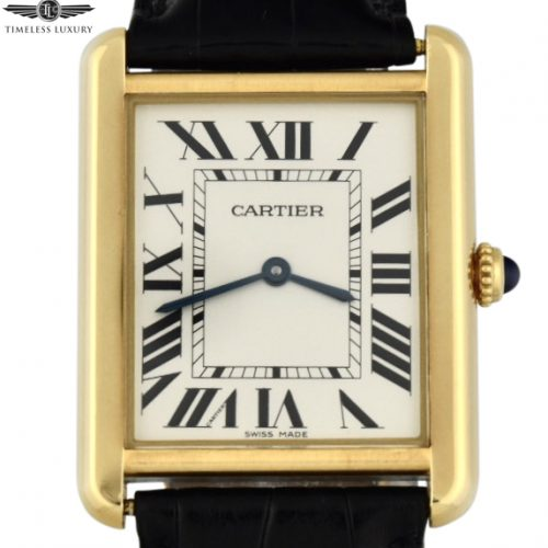 Men's Cartier Tank Solo Large W5200004