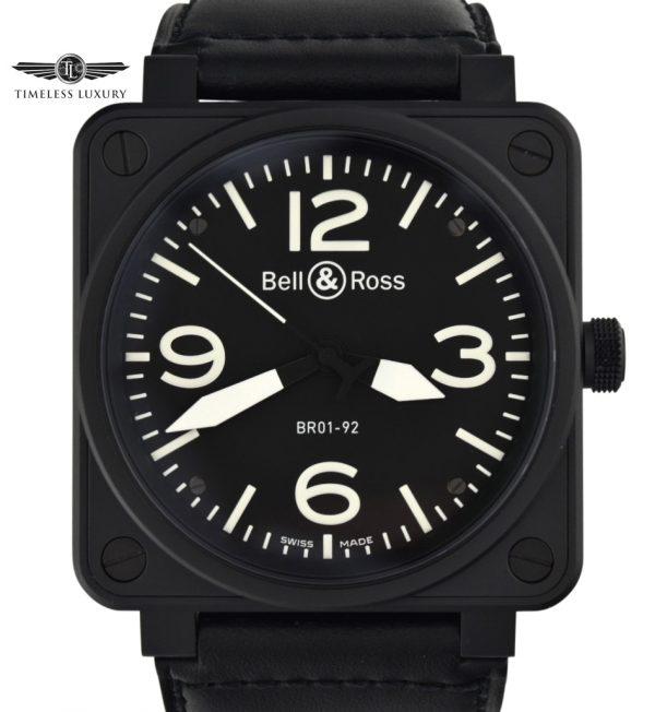 Bell & Ross Aviation BR01-92-S Carbon For sale