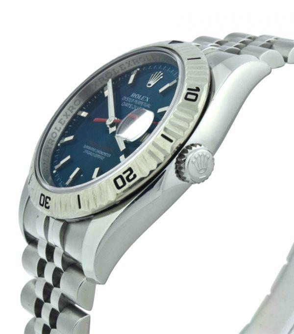 Rolex Turn-O-Graph blue dial 116264