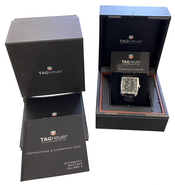 TAG Heuer Monaco Black dial for sale