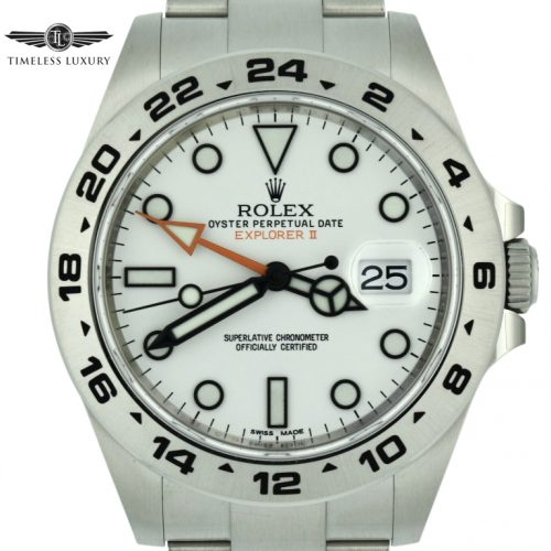 Rolex Explorer II 216570 White Dial For sale