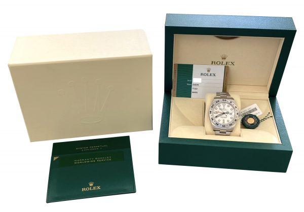 Men's Rolex Explorer II 42mm 216570 White dial