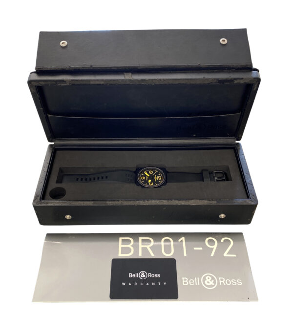 Bell & Ross BR01-92-S Ylw Limited Edition Yellow Dial