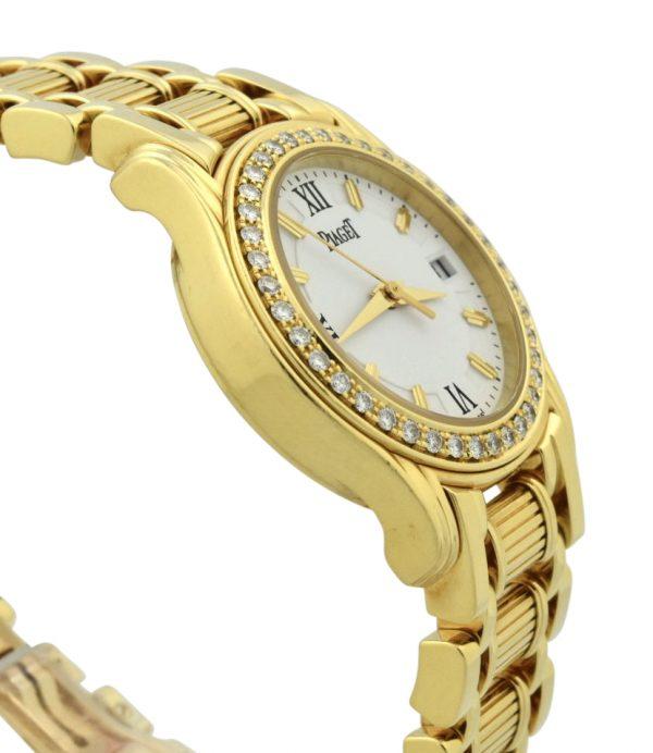ladies Piaget polo diamond watch