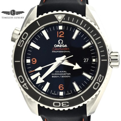 OMEGA Seamaster Planet Ocean orange numbers 232.32.46.21.01.005