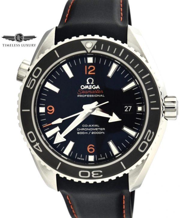 OMEGA Seamaster Planet Ocean orange numbers 232.32.46.21.01.005