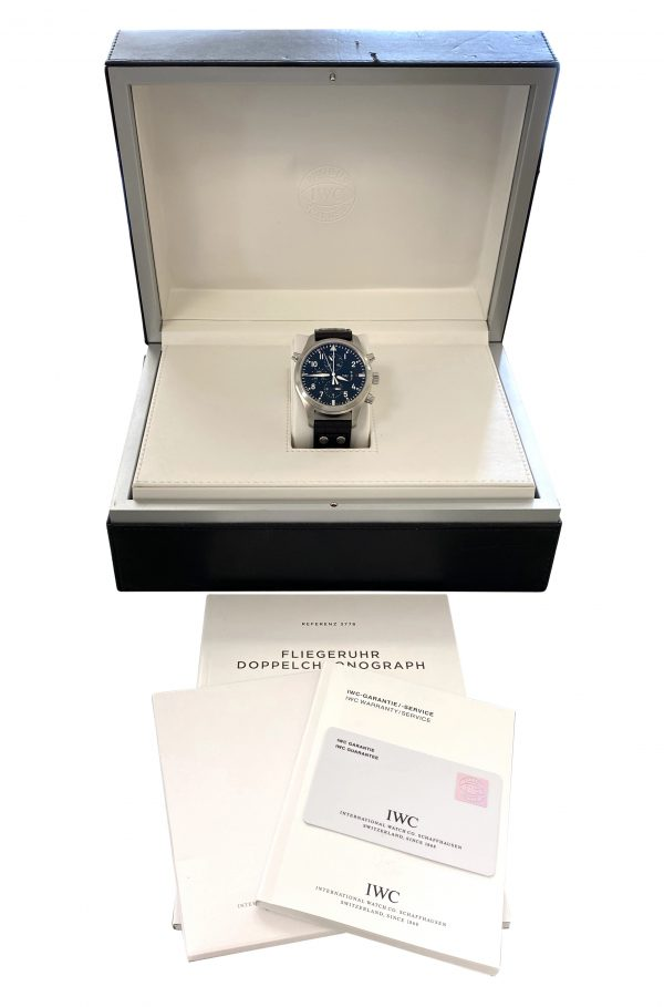 IWC Pilot Double Chronograph IW3778 For Sale
