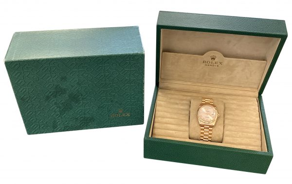 Men's Rolex Day-Date President 118235 rose gold for sale