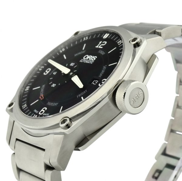 Men's ORIS BC4 Small Second Pointer Day 01 645 7617 4174-07 8 22 58