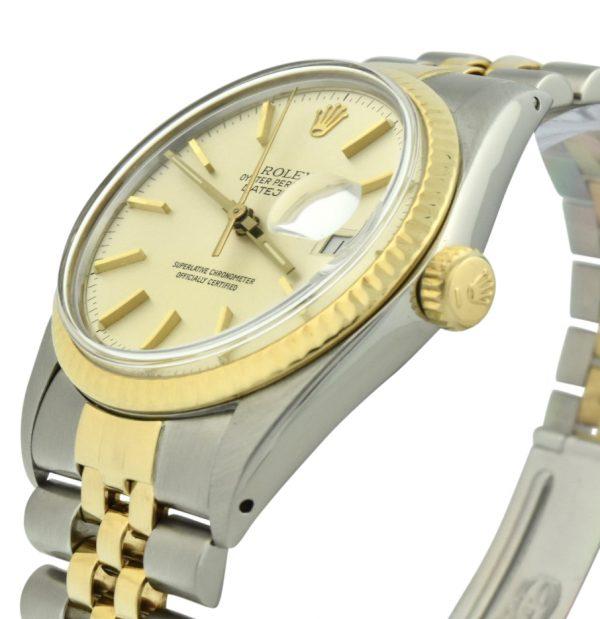 Rolex Datejust 16013 steel & gold 36mm