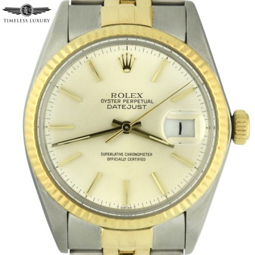 1983 Rolex Datejust 16013 Steel & Gold