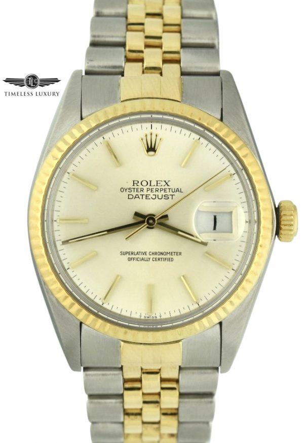 1983 Rolex Datejust 16013 Steel & Gold