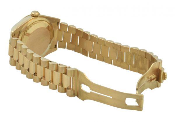 2000 Rolex President rose gold band