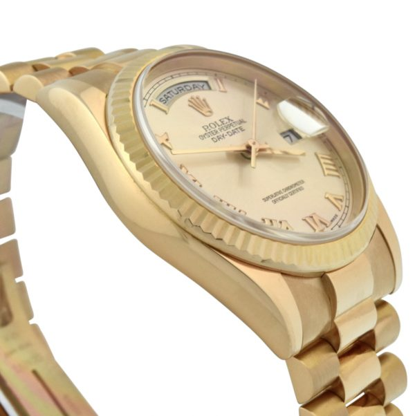 Rolex President 118235 rose gold