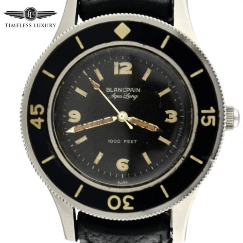 Vintage Blancpain Aqua-Lung Fifty Fathoms 2462 for sale