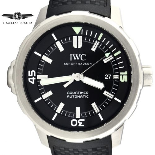 IWC Aquatimer IW3290 Black dial for sale