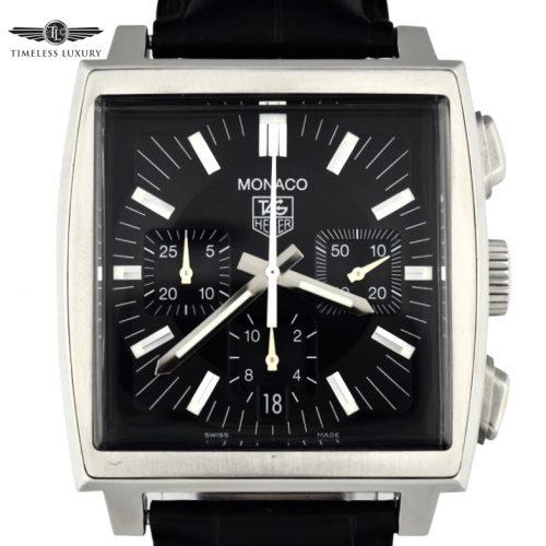 TAG Heuer Monaco CW2111 Black dial
