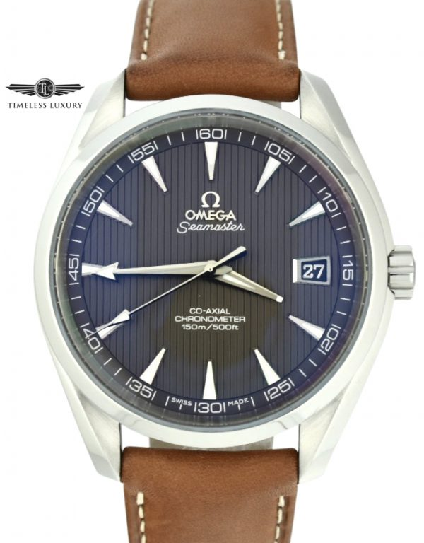 OMEGA Seamaster Aqua Terra Grey Dial Automatic Watch For sale