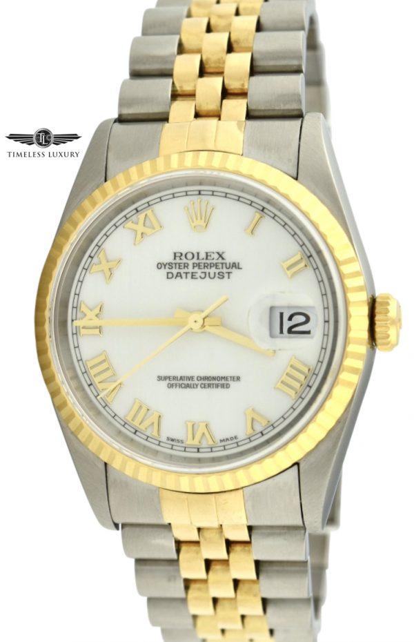 Rolex Datejust Shantung silk dial