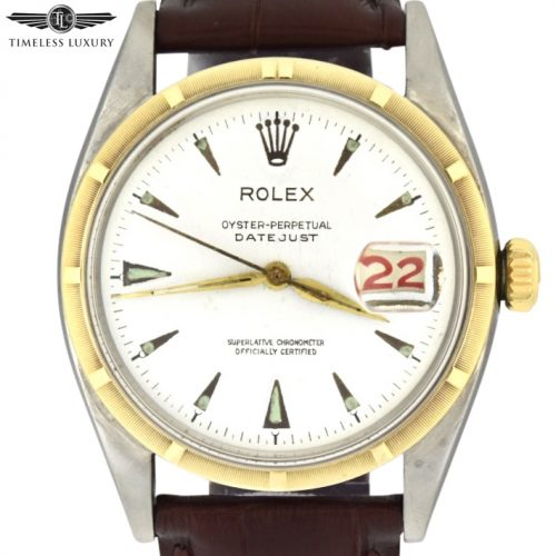 1953 Rolex Datejust 6305 big bubble back
