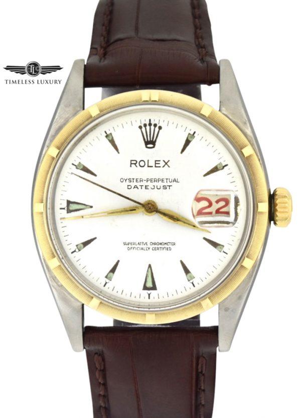 1953 Rolex Datejust 6305 big bubble back