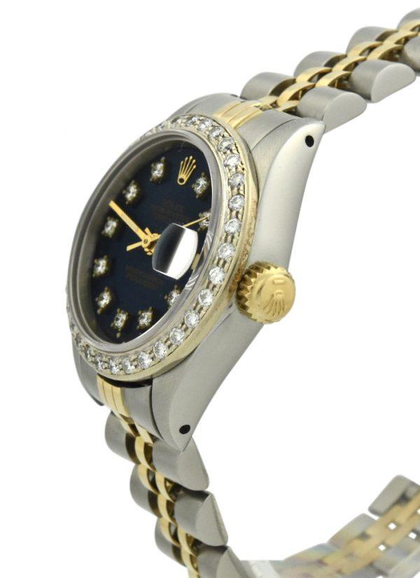 Ladies Rolex Datejust 26mm blue dial