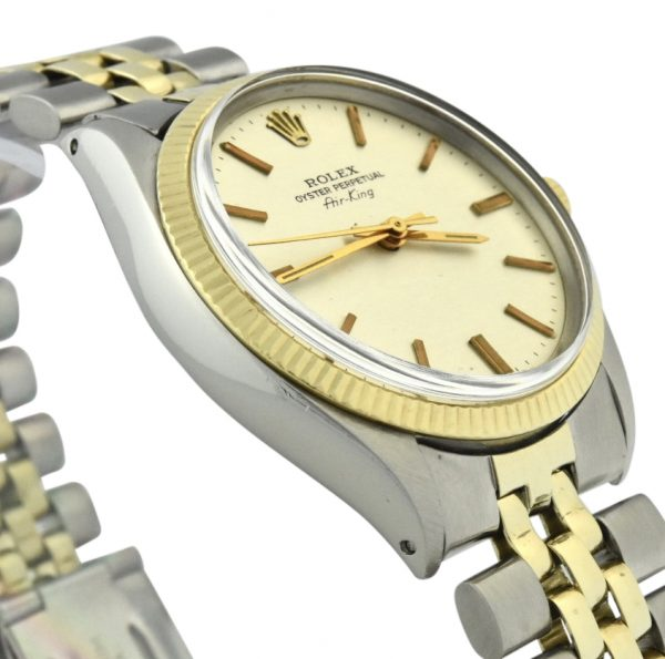 Rolex Air-King 5501 steel & gold for sale