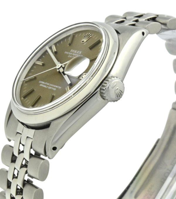 Rolex date 1500 brown dial