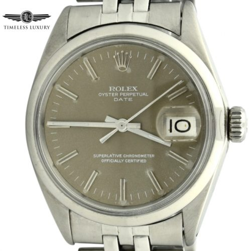 1967 Rolex date 1500 brown dial