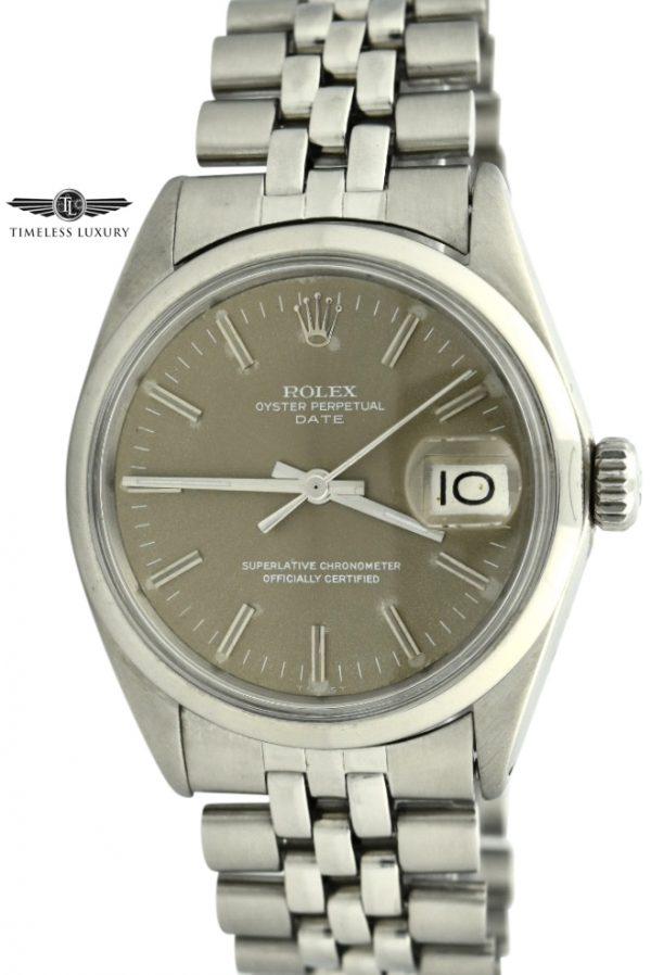 1967 Rolex date 1500 brown dial