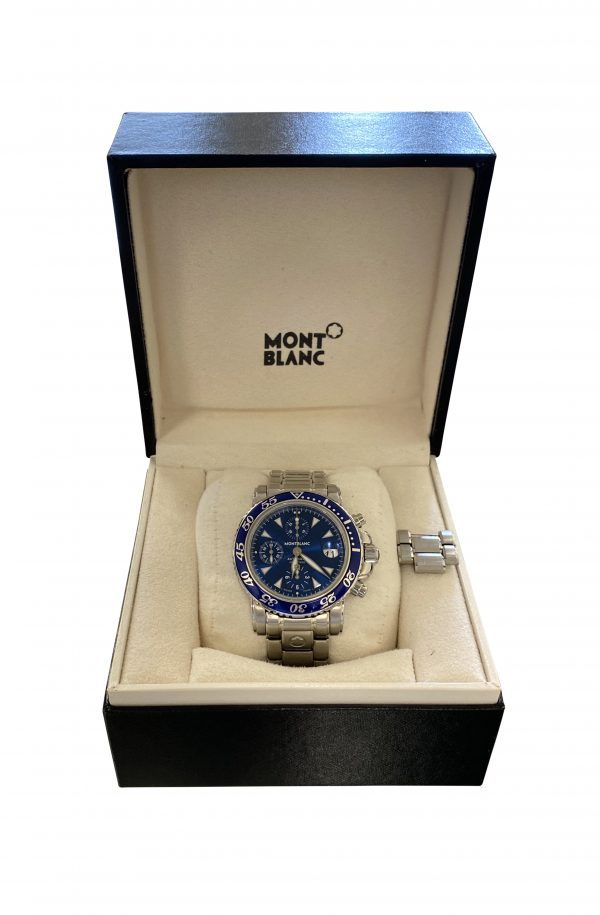 Men's Montblanc Sport Chronograph M29300 For Sale