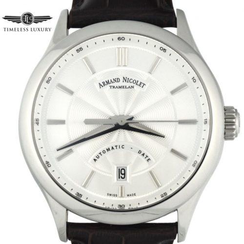 Armond Nicolet M02 Silver dial A840BAA-AG-P840MR2